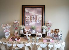 first communion party images   First Communion Table - Dimple Prints