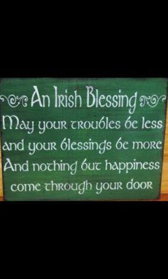 Oración irlandesa.