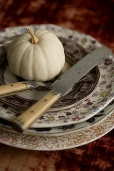 Vintage Fall Table