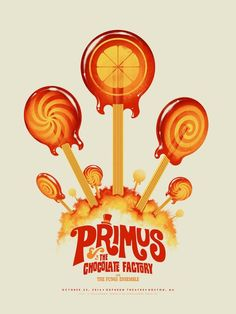 Primus Poster by Justin Erickson