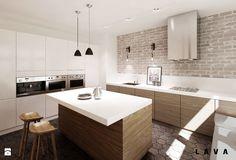 Kuchnia - Styl Eklektyczny - LAVA Projektowanie Wnętrz