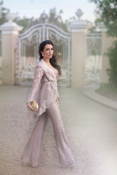 If there is such a thing as the perfect fairytale wedding, Farah Talib Aziz Pakistan would be the ideal choice to dress the bride and every guest at the affair. Out of this world and utterly romantic Pakistani Wedding Outfits, Pakistani Dresses, Indian Dresses, Indian Outfits, Pakistani Couture, Pakistani Bridal, Indian Bridal, Desi Clothes, Wedding Wear