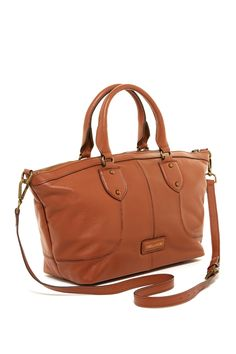Jackson Leather Satchel by Isabella Fiore on @nordstrom_rack