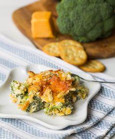Southern Broccoli Casserole