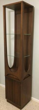 Modern homes need a cabinet like this to showcase sculpture and other high end collectibles and collections. Not as rambling as the old china cabinet idea. And small footprint. Design one for Wooda to produce!