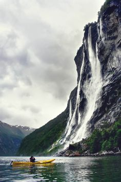 Learn about the best Norwegian fjords, where to find them, what tours to take, and where to stay while visiting them. We take you through the top ten fjords in Norway including beautiful images. Places To Travel, Places To See, Travel Destinations, Norway Fjords, Norway Travel, Norway Vacation, See The Northern Lights, Photos Voyages, Kayaking