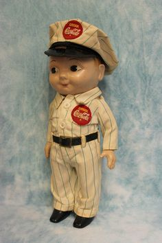 1950s COCA COLA Buddy Lee doll
