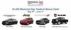 memorial day used car sales