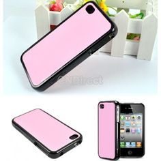 $2.66 New Fashion Hot Sale Movable Case Cover Protector for iPhone 4 4G 4s Black/Pink