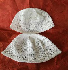 Copricaco a filet-piccoli cappelli-cappellini estivi a uncinetto-cappellino tipo fez-cappello bambino-regalo bambino di lovelymore su Etsy