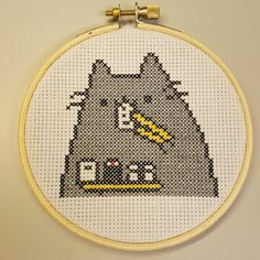 Check out this item in my Etsy shop https://www.etsy.com/listing/260308253/pusheen-cross-stitch