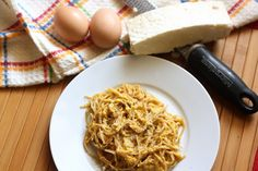 Everyday Reading - Fun Modern Motherhood with a Practical Spin: Spaghetti Carbonara (Bacon and Eggs with Pasta)