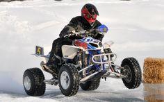 A lot of racers are now opting for air spring shocks for the considerable weight loss - Photo Gallery - ATV Trail Rider