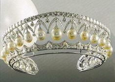 Pearl and Diamond Tiara (Russian Crown Jewels)