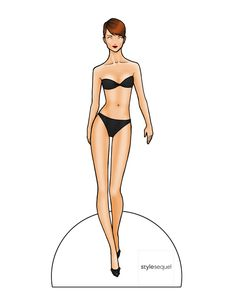 Fashion Paper Doll Template | paper dolls — Danielle on March 5, 2013 at 11:59 am
