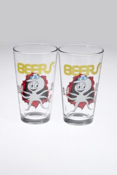 Partypus Beers Pint Glass Set