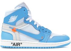 7c383723aaa Check out the Jordan 1 Retro High Off-White University Blue available on  StockX Jordans