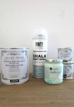 marcas de chalk paint que he probado, y...