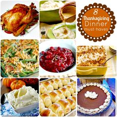 Thanksgiving Dinner Must Haves @Hip2Thrift Traditional Thanksgiving Dinner Menu, Thanksgiving Feast, Holiday Dinner, Thanksgiving Recipes, Fall Recipes, Holiday Recipes, Holiday Ideas, Hosting Thanksgiving, Thanksgiving Appetizers