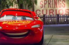 "Brian Shih (@disney_photograshih) on Instagram: ""Lightning McQueen looks pretty smug here"""