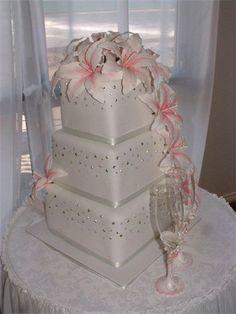 Amanda's Cakes and Invitations - Wedding Cakes- Lilly wedding cake