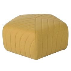Extra-large Pouf in a Pentagon shape with attractive stitch detail. Can be used as a footstool, Lounge centre table or just as an ornamental design for your room.
