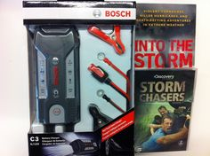 C'mon - who doesn't love StormChasers :) Use the windshield wipers the pros use, just don't enter tornados w/o an armored vehicle :P