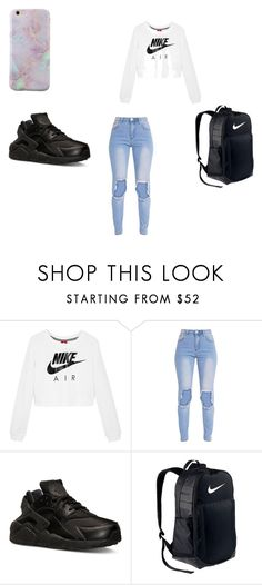 """""""LITT"""" by babygirl339743 on Polyvore featuring NIKE"""