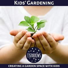 Information and DIY projects for creating a garden space with children. Help Kids, Garden Spaces, Diy Projects, Gardening, Create, Children, Young Children, Boys, Lawn And Garden