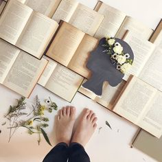 Behind the scenes: Latest catalog cover shoot: marrying our love of books and flowers!