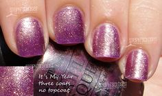 OPI - It's My Year - a lovely purple color of nail polish...