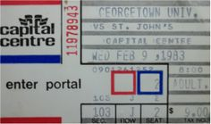 I remember a college bus trip to a basketball game at the Capital Centre (outside of Washington D.C.)  I couldn't fall asleep following the exciting journey.  That was a good thing, since I got home at 4:00am and had to be back at St. John's for an 8:00am class:)  The game featured two future NBA Hall of Famers.  Chris Mullin was outstanding that night, leading St. John's to a victory.  Patrick Ewing was on the opposing team.  But, eventually I would root for him when he played for the…