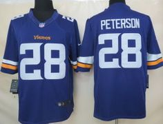 Nike Minnesota Vikings 28 Adrian Peterson Purple Limited NFL Jerseys 2013  New Style 6829d52aa