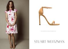 Stuart Weitzman The Nudist Sandals Tabitha Webb, Pippa Middleton Style, Cinderella Shoes, Stuart Weitzman, Prince, London, Summer Dresses, Sandals, Fashion