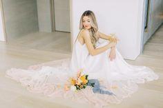 Fresco by Carol Hannah at Sash & Bustle Dip Dye Wedding Dress, Colored Wedding Dress, Open Back Wedding Dress, Bridal Gowns, Wedding Gowns, Ethereal Wedding Dress, Wedding Beauty, Fresco, Wedding Inspiration