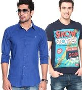 FLAT 40% EXTRA OFF on Men Apparels - Hot Shopping Offers & Deals