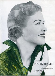 Vintage American Hairdresser Magazine published by OldBookSmell, $10.00