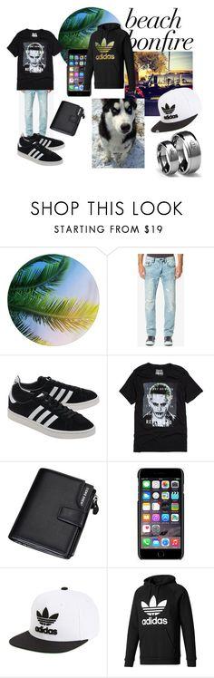 """Brandon"" by alice4fashion ❤ liked on Polyvore featuring Buffalo David Bitton, adidas Originals, DC Comics, Dolce&Gabbana, adidas, men's fashion and menswear"