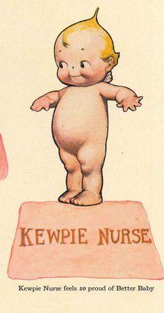 1913 Kewpie Kutouts poupée de papier Kewpie par RememberThatVintage