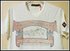 【楽天市場】【全国送料無料】Johnson Motors Inc.【ジョンソンモータース】MOTORCYCLE OUTFITTERSDIRTY WHITEトップス/Tシャツ/プリント/オフホワイト/ヴィンテージ/アメリカ/バイカーズ/【楽天●メンズF】/【メンズファッション】/:SUSAN and WILLY