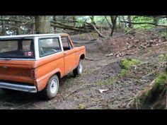 Headquake RC Ford Bronco, a handmade, wooden RC truck • WCXC