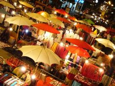 Chiang Mai, Thailand (night markets)