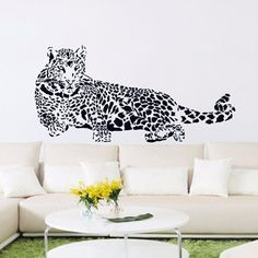 Buy now Huge Cheetah Leopard Jaguar Cat Wall Sticker Mural Vinyl Decal Living Room Bedroom and Car Door just only $3.86 with free shipping worldwide  #wallstickers Plese click on picture to see our special price for you