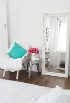 Like the idea of a long mirror in the bedroom-ispiration