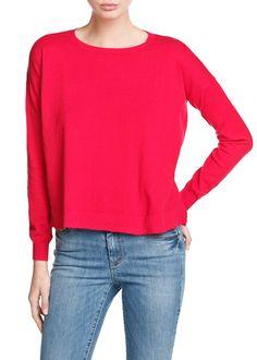 Essential round neck sweater