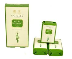Lily of The Valley by Yardley of London for Women Luxury Soap 3.5 Ounce (Pack of 3) by Yardley Of London. $18.95. Launched by the design house of Yardley.. YARDLEY by Yardley LILY OF THE VALLEY LUXURY SOAPS 3x3.5 OZ EACH. YARDLEY by Yardley LILY OF THE VALLEY LUXURY SOAPS 3x3.5 OZ EACH