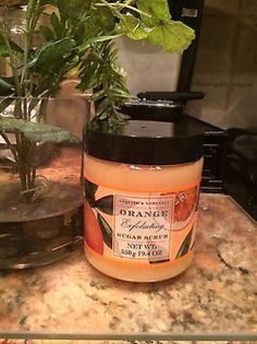 cool ASQUITH & SOMERSET Orange Exfoliating Sugar Scrub 19.4 OZ - For Sale
