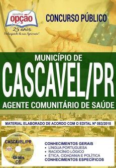 Apostila Concurso Municipio De Cascavel 2018 Agente Comunitario