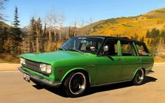 Depth of Speed gets cozy with a Datsun 510 Wagon