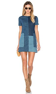 7cfee72dacb Luna Shift Dress Denim Fashion, Denim Dresses, Fashion Dresses, Two Toned  Jeans,